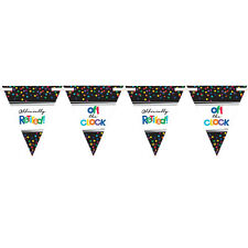 Happy Retirement Party Bunting Banner Retirement Party Supplies Flag Banner