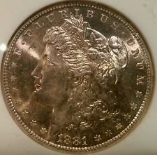 1881 S Morgan Dollar Graded Ms 65 By Ngc! Undergraded?