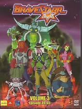 Bravestarr - Volume 3 - Episode 49-65 / 3-DVD`s / DVD #6238