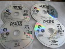 DEXTER - THE FOURTH SEASON DISCS 1-4- DISC ONLY (DS)  {DVD}