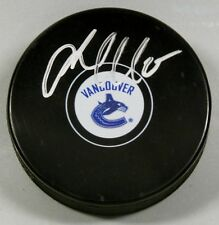 JACOB MARKSTROM Signed VANCOUVER CANUCKS HOCKEY PUCK 1007064