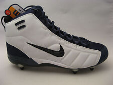 Nike Football Cleats 15 Air Zoom Barracuda Stove White Navy Blue 306095-104 NEW
