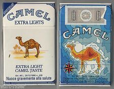 CAMEL EXTRA LIGHTS cigarette Italy empty pack ANNIVERSARY 1993 #11 Donne incinte