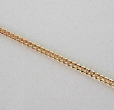 New 9ct Gold Pendant Curb Chain Necklace 20 inch 4.3grams £164.99 Freepost