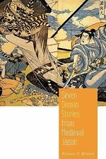 Seven Demon Stories from Medieval Japan by Noriko Reider (2016, Paperback)