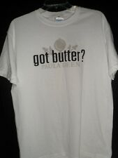Paula Dean Got Butter Women's T Shirt SZ M White