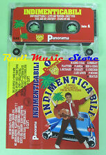 MC INDIMENTICABILI compilation PANORAMA 1 PLATTERS BEATLES ELVIS PRESLEY no cd *