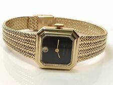 Vintage Geneve  Elegant Gold Tone Ladies Mechanical Windup Wrist Watch(G17SJ)