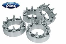 "4 Ford F-250 F-350 PowerStroke Diesel 8 Lug 1.5"" Thick Wheel Spacers Adapters"