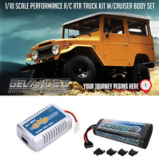 RC4WD Gelande II RTR Truck Kit w/Cruiser Body Set Z-RTR0029 Bundle Deal