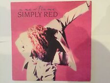 Simply Red AUTOGRAPHED vinyl LP-A new flame-see photo Signing proof