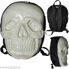 KREEPSVILLE 666 Skull Backpack in Monster White Glow in The Dark