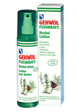 Gehwol Fusskraft Herbal Lotion Eliminates Foot Odour Freshens Skin 150ml