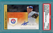 2012 Topps Golden Moments Alexi Ogando Auto Issue - #GMAAO - PSA 9! Rangers!