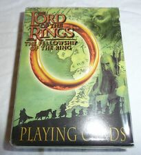 NEW SEALED - Lord of the Rings Villains Deck of Playing Cards LOTR Orcs Goblins