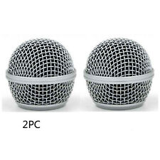 2 pcs Ball Head Mesh Microphone Grille Accessories for Shure BETA58 SM58 SM58LC