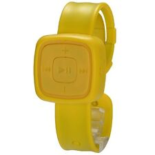 Yellow MP3 Player Micro SD/TF Slot Watch