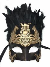 Gold & Black Men Mask Venetian Hercules Roman Greek Halloween Masquerade mask