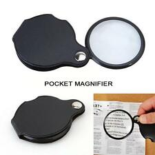 10x Pocket Hand Sized Monocle Magnifying Magnifier Foldable Loupe Glass Loop TL