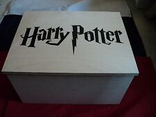 Harry Potter Wooden Storage Box 36 x 28 x 20 cm Harry Potter Decal