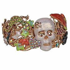 "Kirks Folly ""SKELETON MENAGERIE"" Halloween Cuff Bracelet - Holiday"