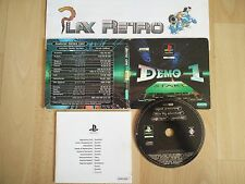 PLAY STATION PSX PS1 DEMO ONE 1 COMPLETO PAL ESPAÑA