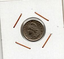 Argentina : 5 Centavos 1928 VF+