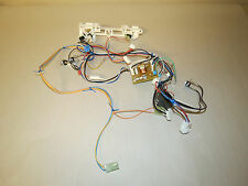 MICROWAVE OVEN LATCH BOARD BODY & WIRING HARNESS W/ CAPACITOR SAMSUNG SMH1622