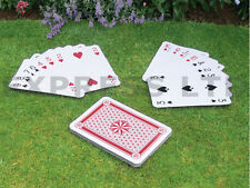 GIANT A3 FULL 37CM DECK 52 GARDEN PLAYING SCHOOL OUTDOOR CARDS MAGIC FAMILY PLAY