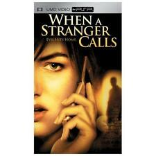 When a Stranger Calls - PlayStation Portable (PSP) - Movie - NEW and SEALED