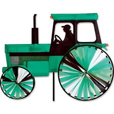 Modern Style Tractor Green Tractor Staked Wind Spinner with Pole PR 25657