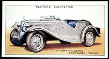 Triumph Gloria Southern Cross     Original 1930's Vintage Card  VGC