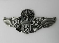 USAF AIR FORCE ASTRONAUT WINGS MASTER LAPEL PIN BADGE 3 INCHES