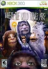 XBOX 360 ~ Where the wild things Are (Microsoft) - Complete