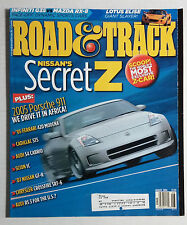 ROAD & TRACK CAR MAGAZINE 2004 AUGUST NISSAN 350 Z FAIRLADY
