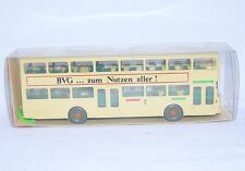 "Wiking HO 1:87 MAN SD-200 BERLIN BUS ""BVG"" Autobus PASSENGER BUS #730 MIB`78!"