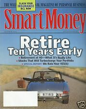 Smart Money Magazine October 2000 Retire Ten Years Early Slash Your Insurance