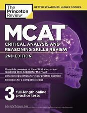 NEW MCAT Critical Analysis and Reasoning Skills Review, 2nd Edition by Princeton