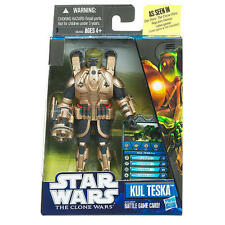 Star Wars The Clone Wars Video Game Figurine - Kul Teska NIP