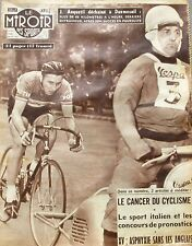 Le miroir des sports n°624 - 1957 - Anquetil - Foot Lens - Sedan St Etienne -