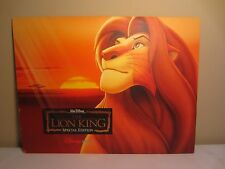 Set of 4 Disney Store The Lion King Special Edition Prints 11x14 Lithographs
