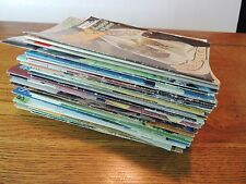 Lot of 50 Crochet Patterns Booklets Doilies Afghans Baby Sweaters Vests Gifts