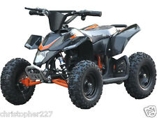 Outdoor Kids Sahara X V3 Black Mini Quad ATV Dirt Motor Bike Electric Battery