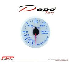 DEPO RACING DIGITAL LADEDRUCK ANZEIGE / TURBO BOOST GAUGE WBL5201W 52mm