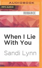 A Millionaire's Love: When I Lie with You by Sandi Lynn (2016, MP3 CD,...