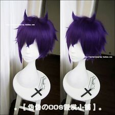 Dance with Devils Shiki Natsumezaka Grape Purple Modeling Styled Cosplay Wig