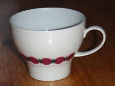 Thomas ROTUNDA Kaffeetasse - retro, Dekorband rot/pink grün 11440 Tapio Wirkkala