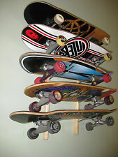 SKATEBOARD  RACK storage decks completes longboard vintage display
