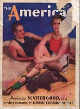 1934 American August-Scottie Dog;H G Wells; Shirley Temple; Marquand;Oppenheim