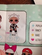 LOL Surprise LIL Outrageous Littles Doll L.O.L. FRESH Opposites Club Blue Ball